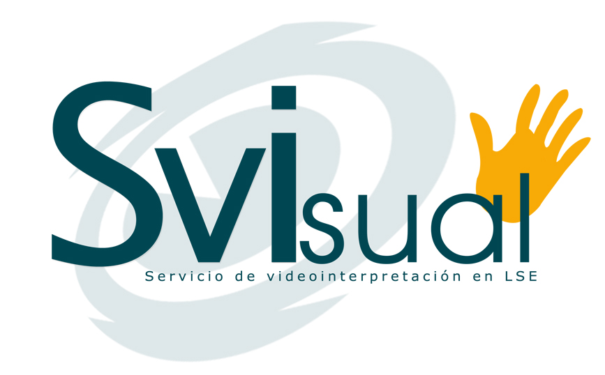 Logo de la empresa Svisual, Servicio de video interpretación en LSE